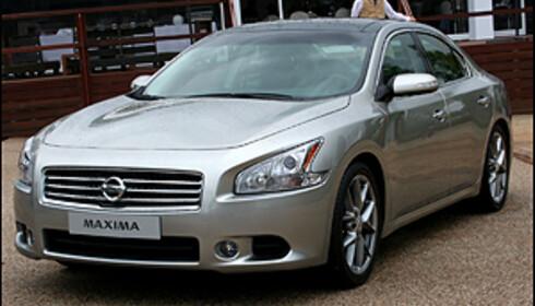 Nye Nissan Maxima - en flott, stor sedan