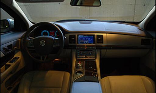 image: Ny og lekker Jaguar prøvekjørt