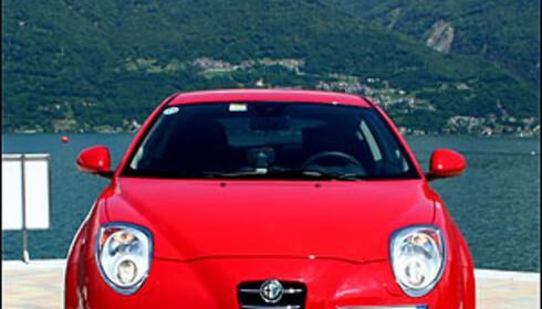 Alfa MiTo prøvekjørt