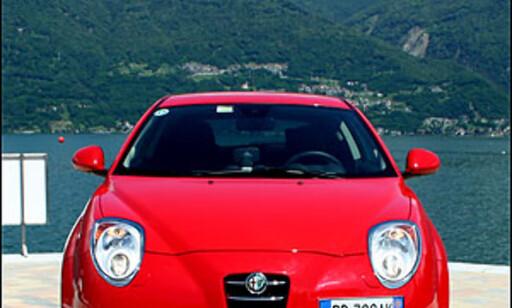image: Alfa MiTo prøvekjørt