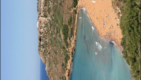 Ramla Bay er Gozos flotteste strand. Foto: Marte Okkelmo