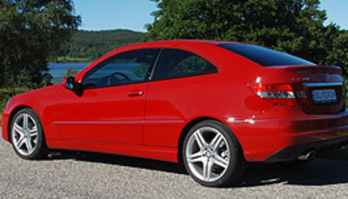 TEST: Mercedes CLC - halvhjertet forsøk