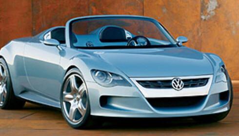 Concept R var utstilt så tidlig som i 2003, på Frankfurt-utstilingen Foto: Volkswagen