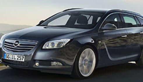 Opel med diger stasjonsvogn