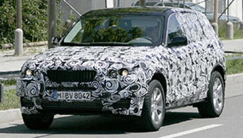 Ny BMW X3 spionfotografert