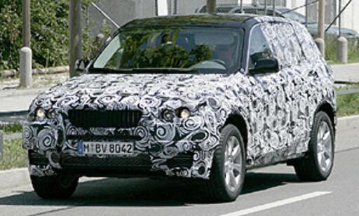 image: Ny BMW X3 spionfotografert