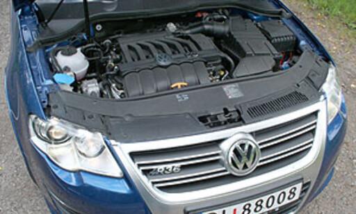 KULTIVERT OG SPREK: 3,6-liters V6, 300 hester, 350 newtonmeter. Foto: Knut Moberg