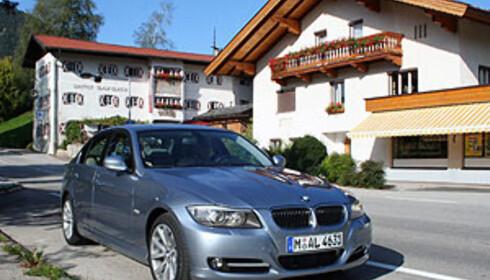 Bayern og BMW hører sammen... Foto: Knut Moberg