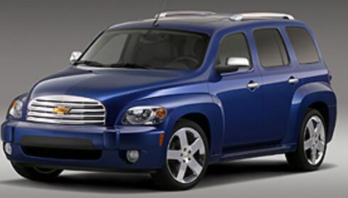 Chevrolet HHR: Skal Orlando erstatte denne? Foto: Chevrolet