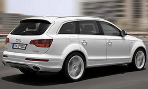 image: Monster-Audi prøvekjørt