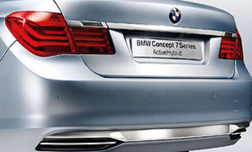 image: BMW viser 7-serie hybridbil