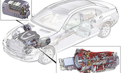 image: Mercedes' første hybrid