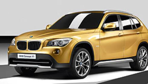 BMW presenterer mindre SUV