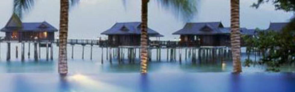 Pangkor Laut i Malaysia er et av landets mer renommerte resorts. Foto: Hotellet