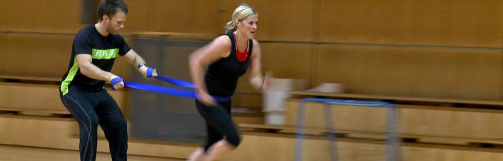 Mosjonist og journalist Maren Synnevåg har testet personlige trenere hos Sats, Oxigeno og Elixia i Oslo. Foto: Per Ervland