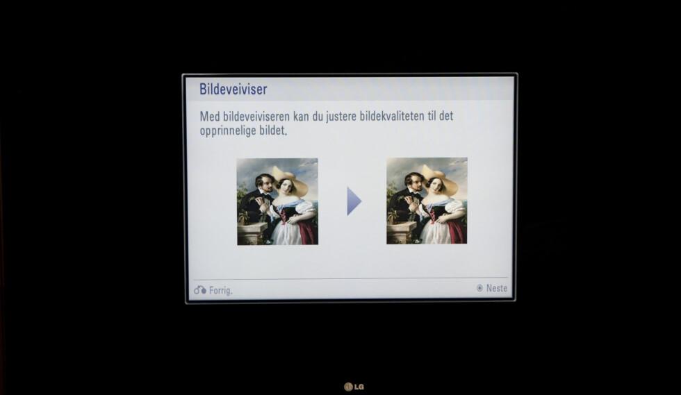 LG-bildeveiviseren får tommel opp! Foto: Per Ervland