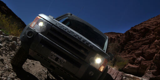 image: Med surstoff og bil i Andes