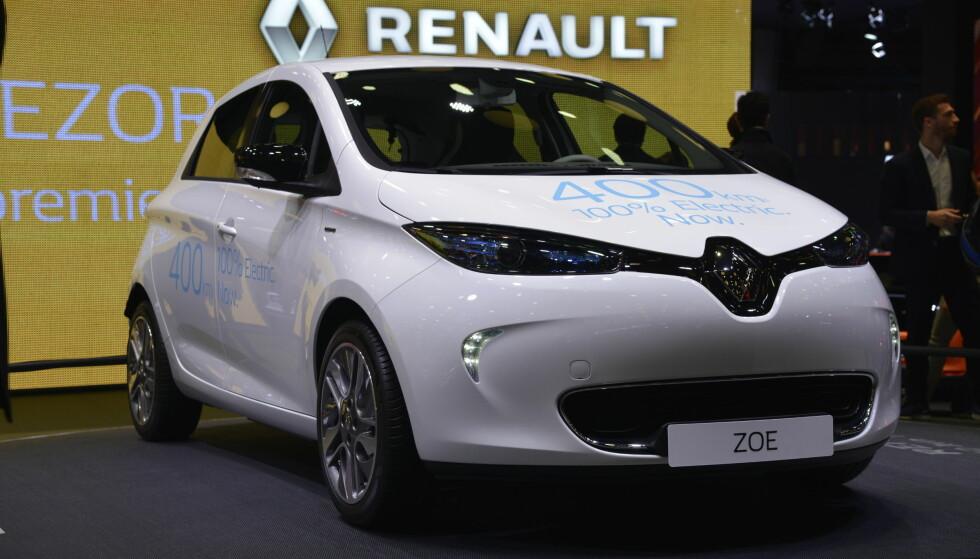 PRESENTERT: Men med lite endringer, Renault kjemper nå helt i rekkeviddetoppen. Foto: Jamieson Pothecary.