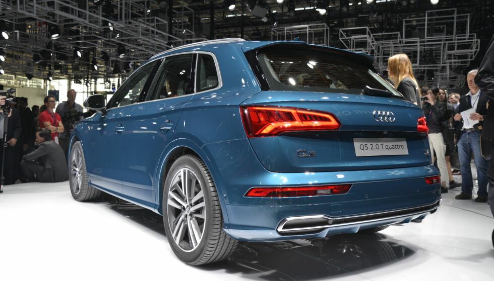 EVOLUSJON: Som så mange ganger før, er Audi ekstremt forsiktige på designfronten når de lanserer en ny modell - at dette er en Audi, er det ingen tvil om. Foto: Jamieson Pothecary