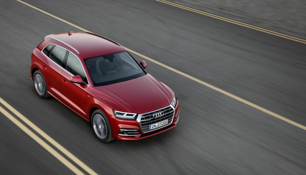 KLASSISK DRIFT: Det er ingenting oppsiktsvekkende i motoriseringene som tilbys i Q5 i denne omgang. Foto: Audi