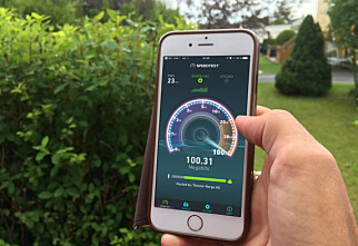 Måler du internetthastigheten på mobilen, kan datakvoten være oppbrukt på minutter
