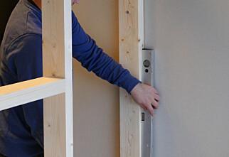 Så enkelt setter du opp en ny vegg