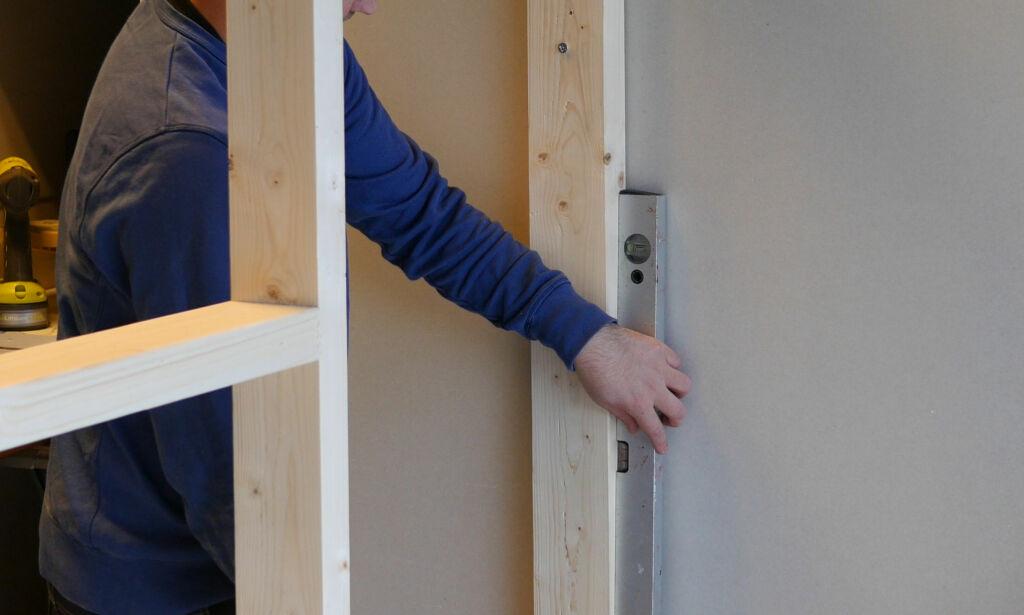image: Så enkelt setter du opp en ny vegg