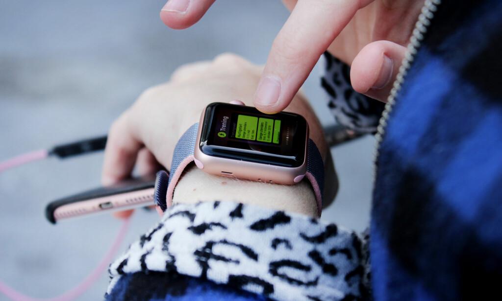 BEDRE BRUK AV SIDEKNAPPEN: Det var smart av Apple å la oss få rask tilgang til våre favorittapper ved å trykke på sideknappen. Foto: Ole Petter Baugerød Stokke