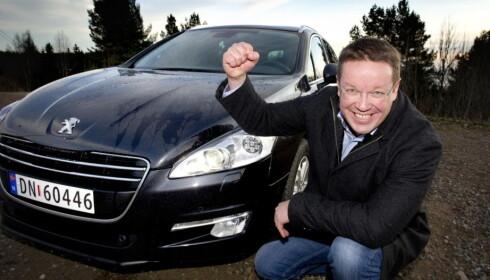SLÅR BRA UT: Informasjonssjef for Peugeot og Citroën, Stian Gihle, anser at budsjettforslaget er godt for begge merkene. Foto: Dagbladet