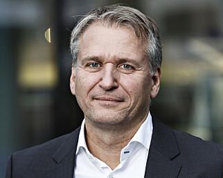 BÅDE OG: Terje Male hos Harald A. Møller (Volkswagen, Audi og Skoda), ser både positive og negative effekter av den foreslåtte avgiftsomleggingen. Foto: Harald A. Møller