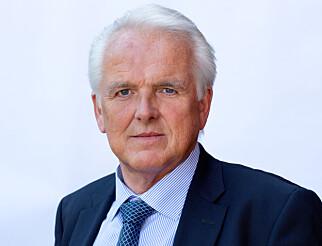 SVÆRT FORNØYD: Administrerende direktør Øystein Herland i Volvo Cars Norge anser budsjettforslaget som en god videreføring av det som ble lovet i fjor. Foto: Volvo Cars