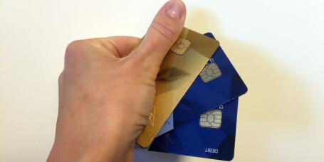 Kredittkortet er smart å bruke