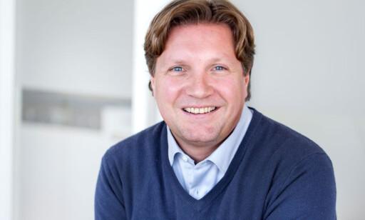 SJEFSØKONOM: Reid Krohn-Pettersen ved Norsk Familieøkonomi. Foto: Elisabeth Tønnesen.