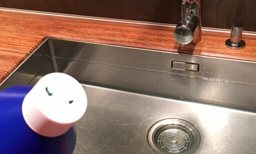 image: Slik blir kjøkkenvasken skinnende ren - uten skrubbing