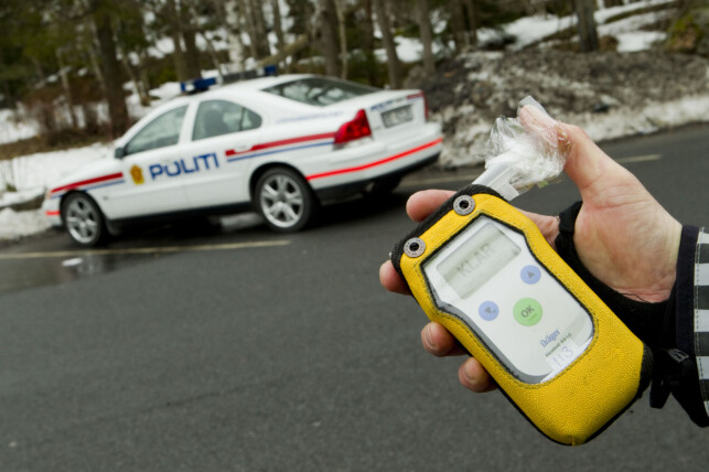 PROMILLEKJØRING: Forsikringsselskapene har nulltoleranse for promille, akkurat som politiet. Foto: Heiko Junge / NTB Scanpix