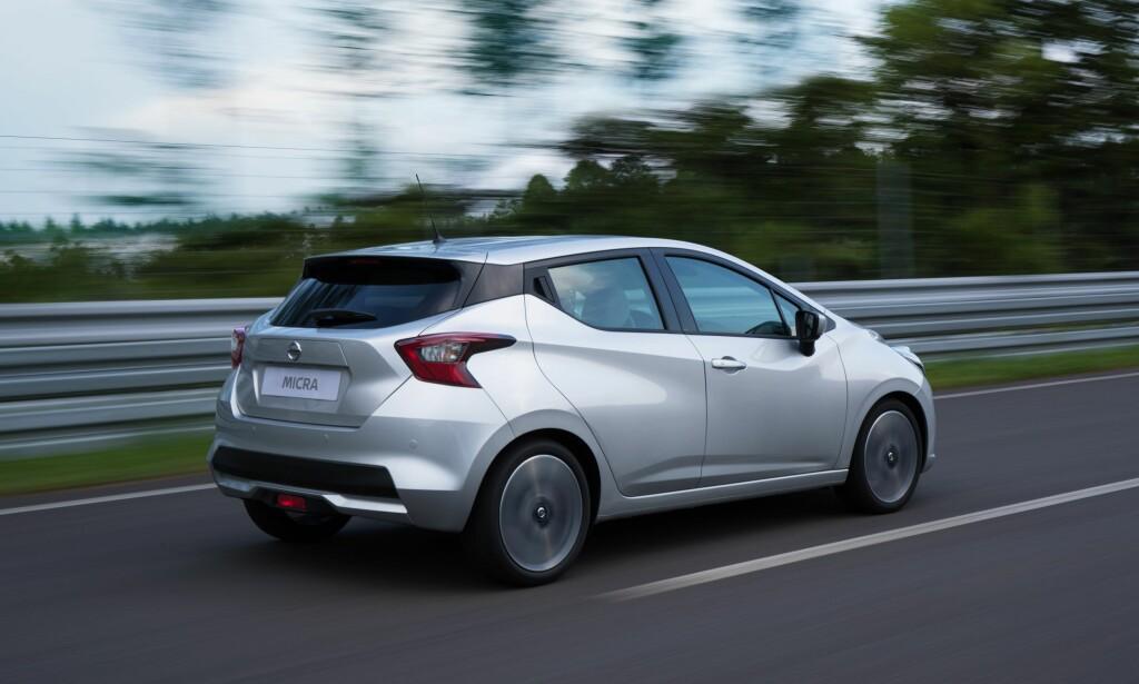 INN I FAMILIEN: Micra-designen virker på oss som en enda mer dynamisk variant av den som er blitt den øvrige Nissan-familien til del. Foto: Nissan