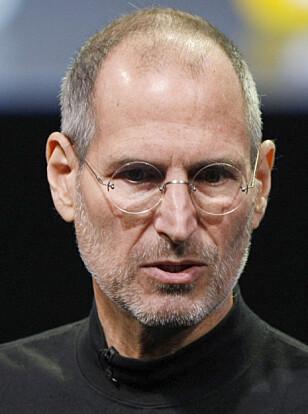 VISJONÆR: Steve Jobs vil alltid bli husket for sin visjonære og kompromissløse lederstil. Foto: AP Photo/Paul Sakuma