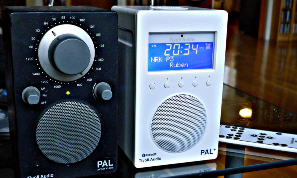 DAB+ OG FM: Mange mener at radioen til venstre låter best. Men objektivt sett er ikke dette tilfelle.