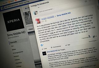 Kunder raser mot Sony etter telefon-oppdatering