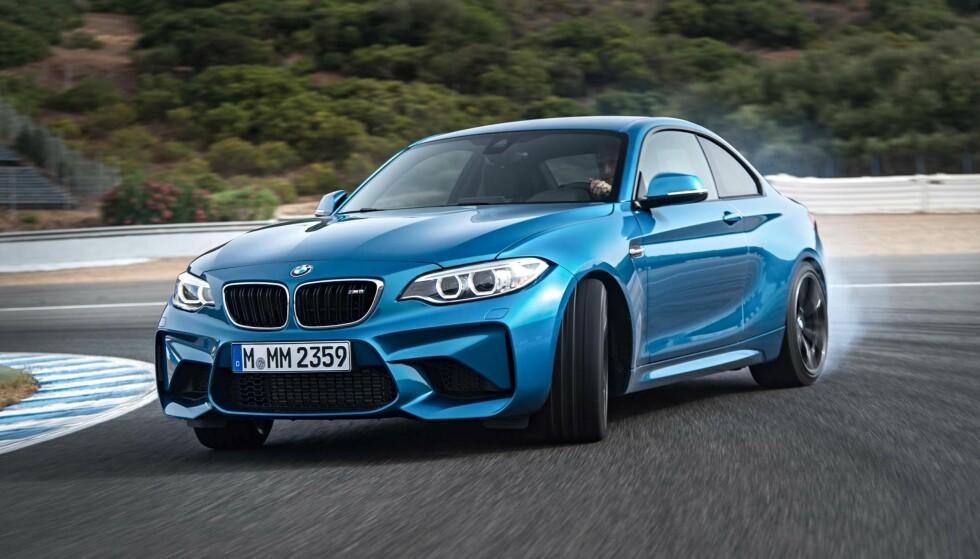 BLIR BILLIGERE: BMW M2 Competition. Foto: BMW