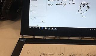 image: Det er et nettbrett. Nei, det er en PC. Nei, det er en digital notatblokk.
