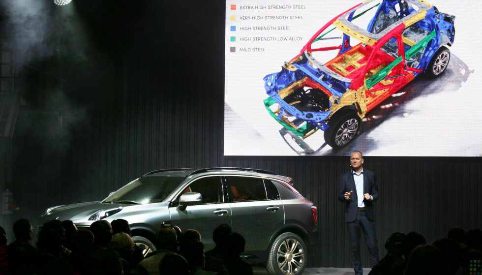 MODERNE: Nyutviklet plattform og de nyeste produksjonsteknikker skal gjøre Lynk & Cos modell høyaktuell på markedet. Foto: Lynk & Co