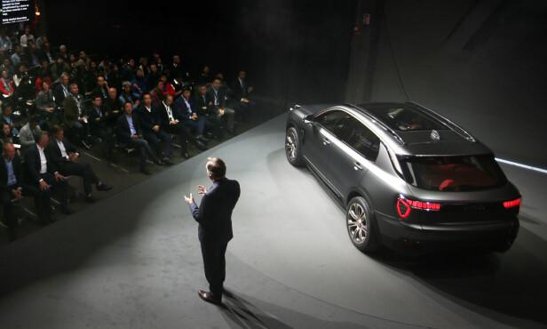 KLASSISKE LINJER: Velkjent stil over den nye SUV-en, selv om designen er ny. Foto: Lynk & Co