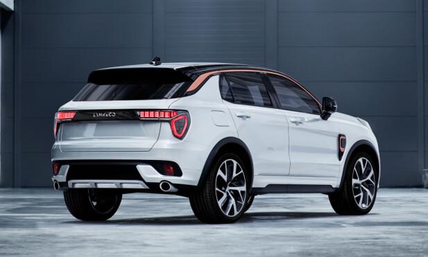 VOLVO-BASIS: Den nye Lync & Co-modellen bruker plattformen til neste Volvo XC40. Foto: Lynk & Co