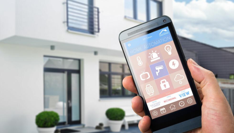 FARE: Hackere kan ta kontroll over overvåkings- og styringssystemet hjemme hos deg. (Foto:Shutterstock/NTB Scanpix)
