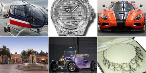 image: Her kjøper og selger milliardærene sine ting