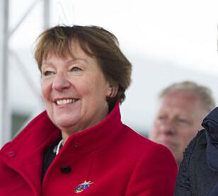 GRATULERER BERGEN: Men ordfører Marianne Borgen (SV) ser fram til november, når Oslo åpner sitt eget store elbil-parkeringsanlegg. Foto: Håkon Mosvold Larsen / NTB scanpix