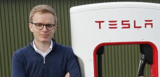 - INGEN KOMMENTAR: Kommunikasjonssjef Even Sandvold Roland i Tesla Norge henviser til Teslas hjemmesider for informasjon om Roadster 2. Foto: Henrik Skolt / NTB scanpix