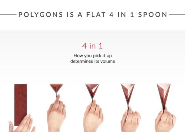 JUSTERBAR: Avhengig av hvor du klemmer den inn, vil Polygons kunne måle opp ulike volum. Foto: Polygons design