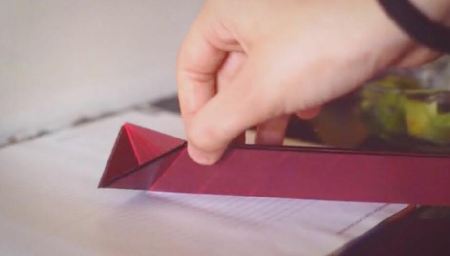 BRETT DER DET PASSER: Polygons er en 4-i-1-måleskje som er flat når den ikke er i bruk. Foto: Polygons design